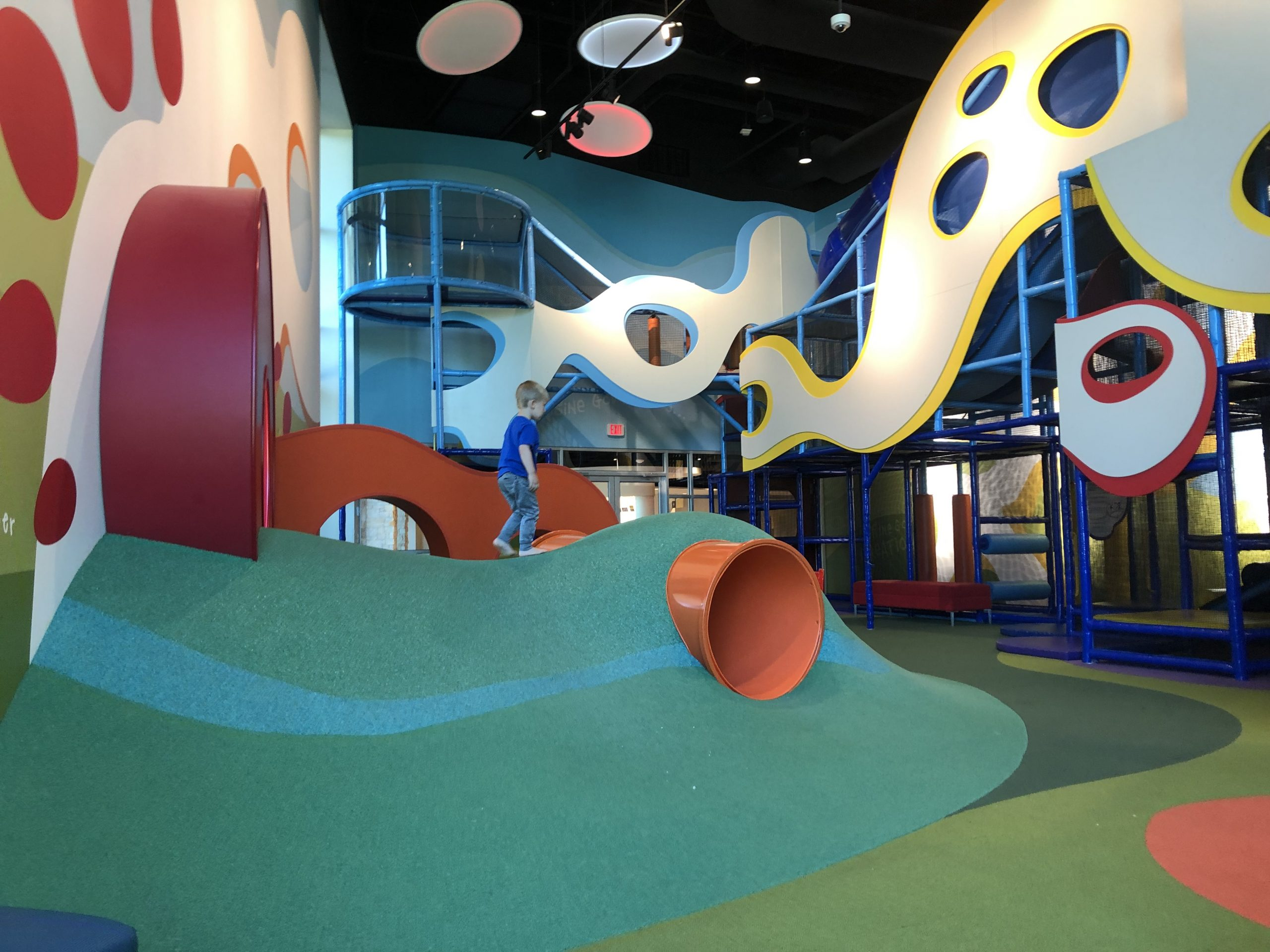 Prestonwood Kidzone indoor play area