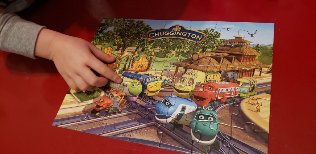 Standard Jigsaw Puzzles by Interest - pictured: Chuggington puzzle