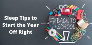 back to school sleep tips
