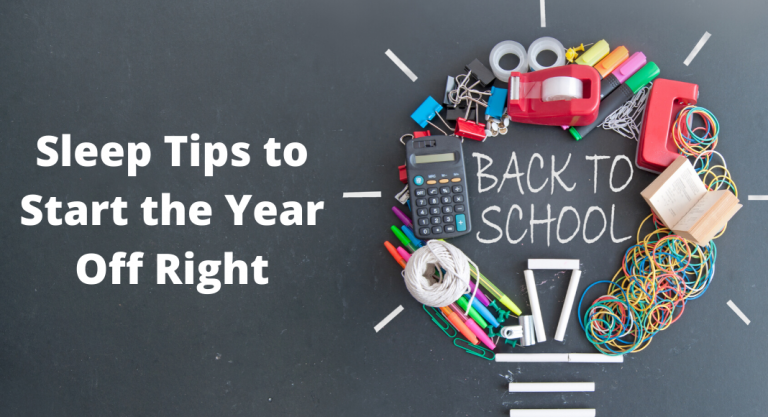 Back-to-School Sleep Tips to Start the Year Off Right