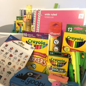 school supplies virtual learning