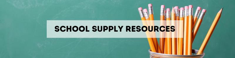 dallas school supplies