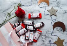 Candy treats labelled Happy Ramadan