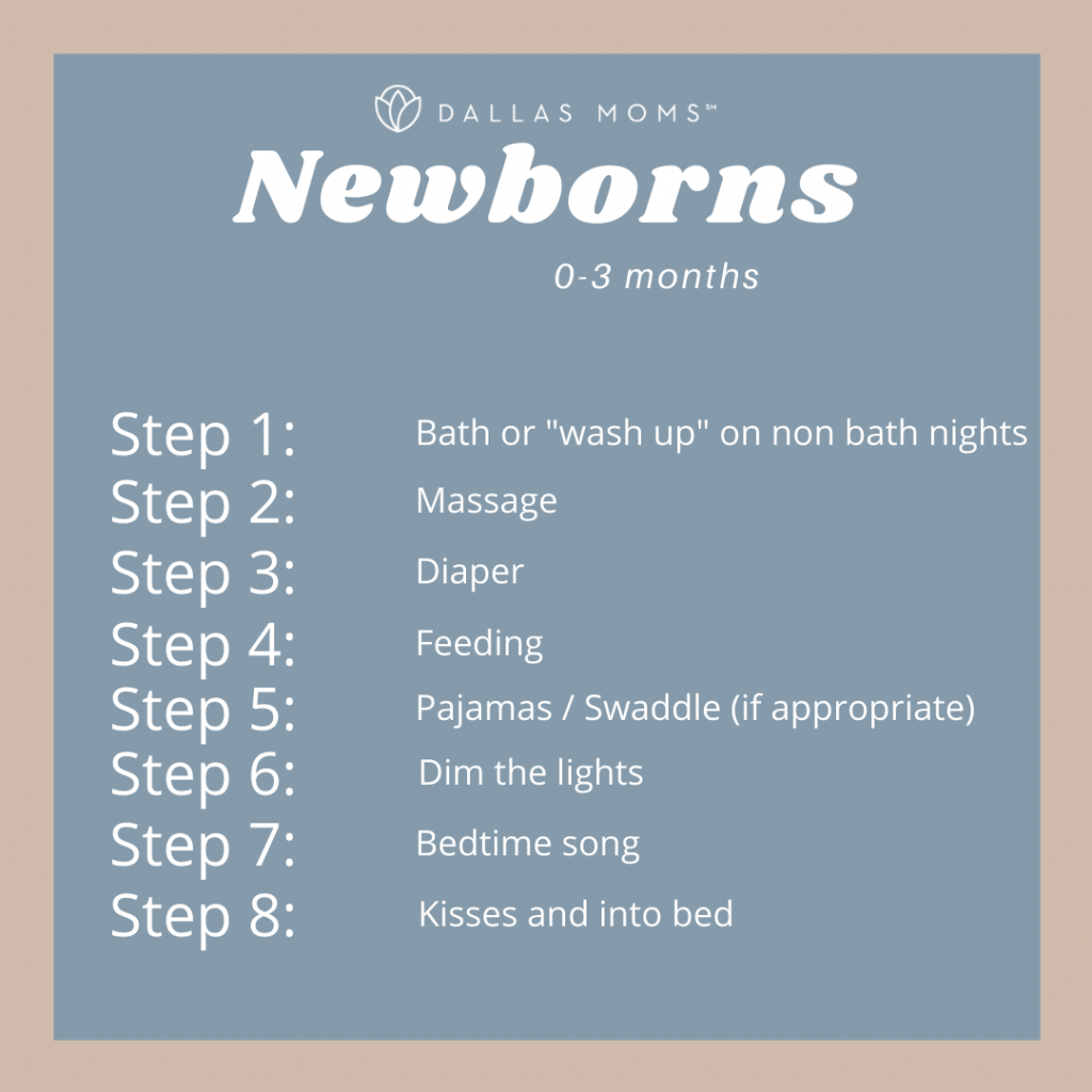 Dallas Moms Bedtime Routines for Newborns