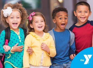 Happy kids at YMCA Afterschool in DFW
